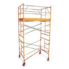 Rental store for SCAFFOLD 08  HIGH X 07 L W SCREW JACKS in Wilmington DE