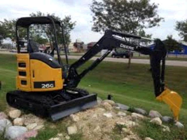 Where to find EXCAVATOR, MINI 7000LB JOHN DEERE 26G in Wilmington