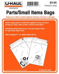Rental store for PARTS SMALL ITEMS BAGS in Wilmington DE